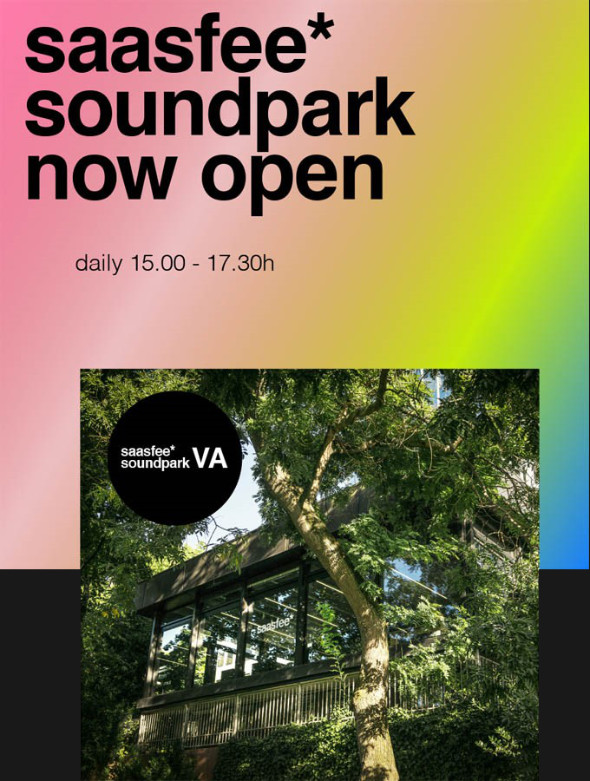 saasfee*soundpark now open